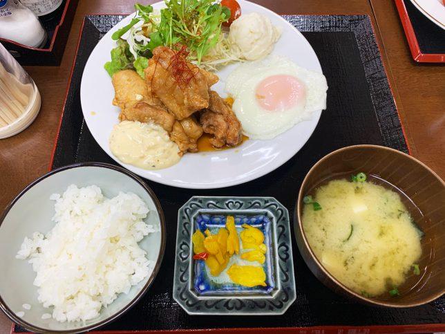十三ランチ(チキン南蛮) ¥600