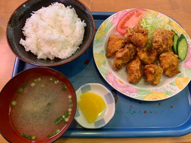 からあげ定食 ¥650