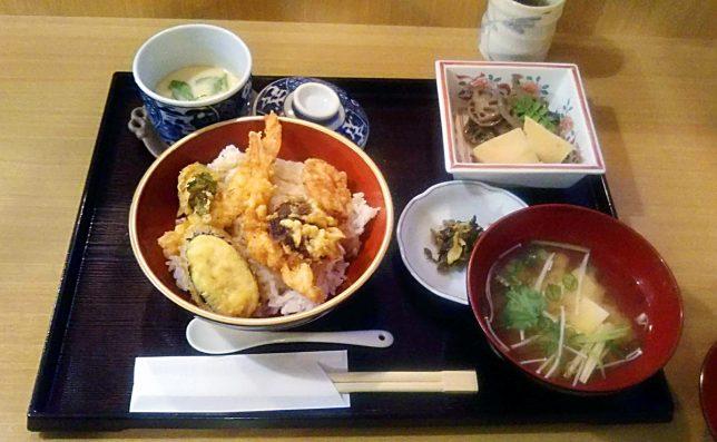 天丼 ¥850