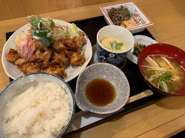 とり天定食 ¥850