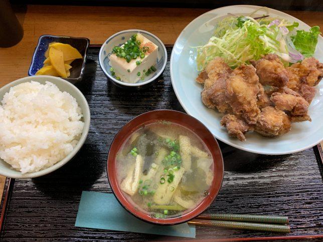 鶏の唐揚 ¥700