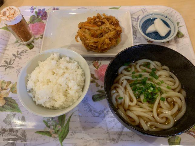 日替わり(うどん定食) ¥637