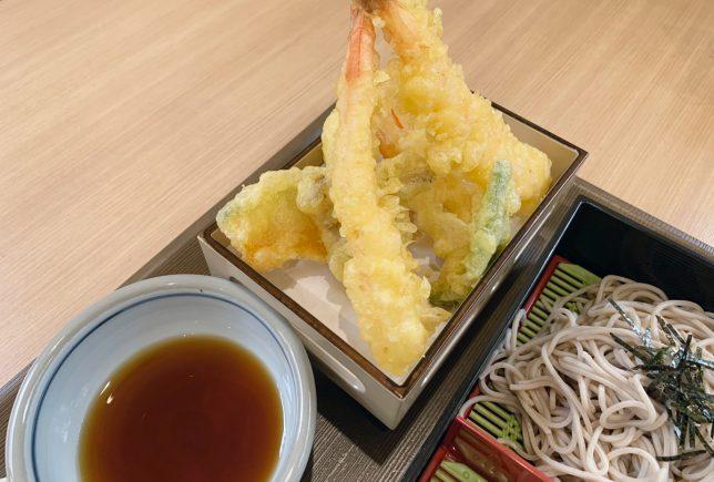 天ぷらそばアップ
