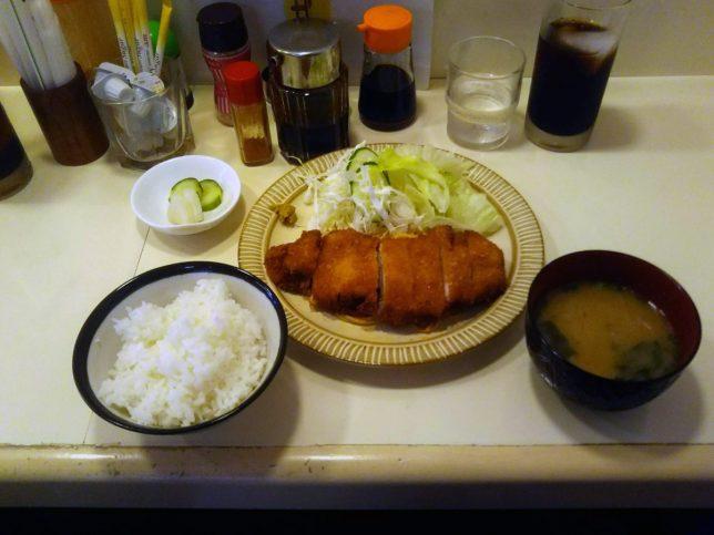 トンカツセット ¥880