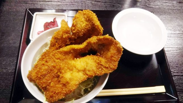 ソースカツ丼(単品) ¥590