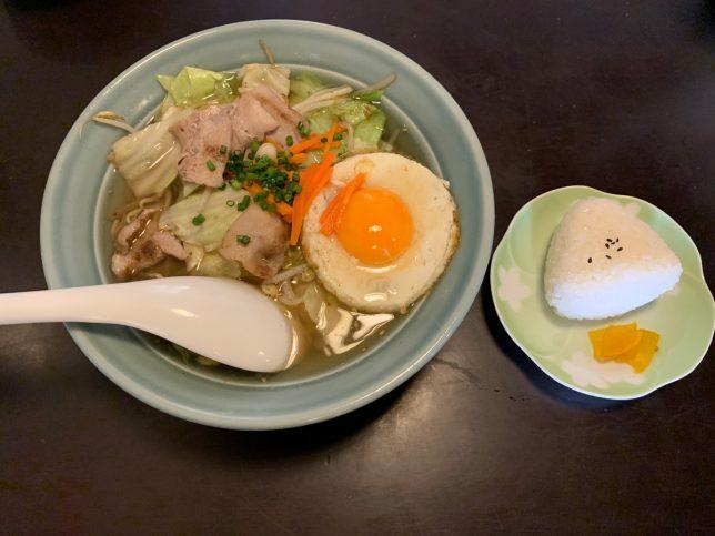 和風野菜ちゃんぽんランチ ¥830
