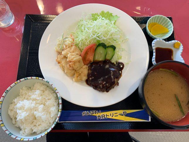 ハンとり定食 ¥850