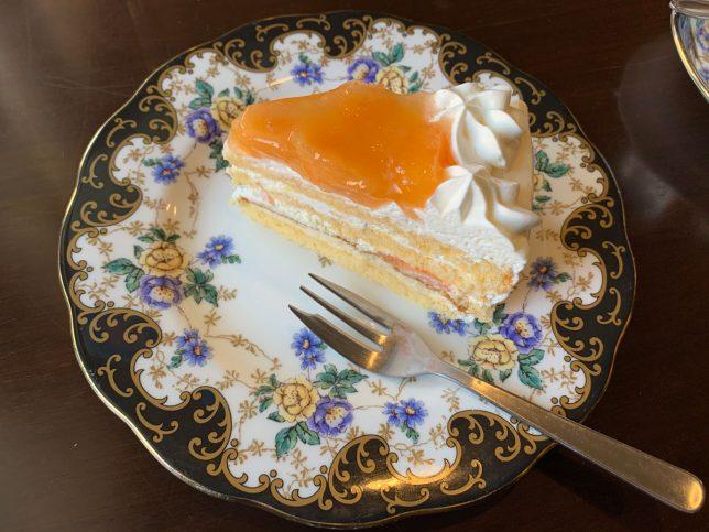 メロンケーキ ¥250(セット価格)