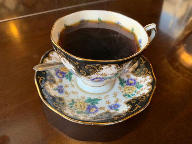 花時計コーヒー