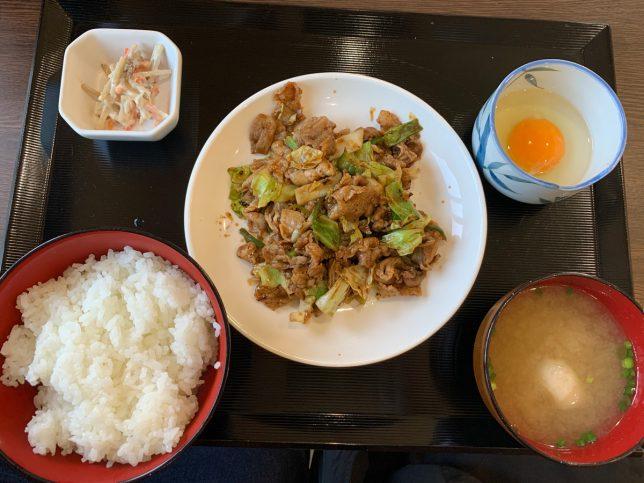 回鍋肉定食 ¥500