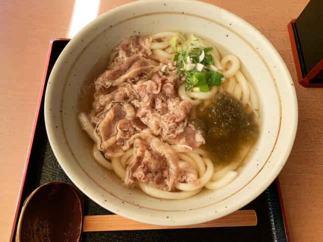 肉うどん ¥580