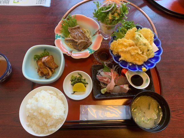 ぶんご定食(梅) ¥1,200