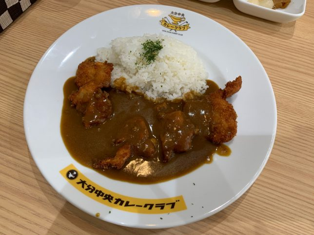カレーライス(チキンカツトッピング) ¥950