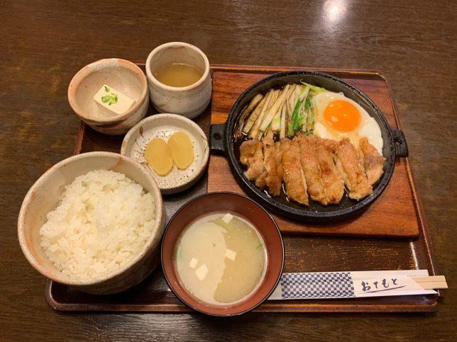 鳥のくわ焼き定食 ¥900