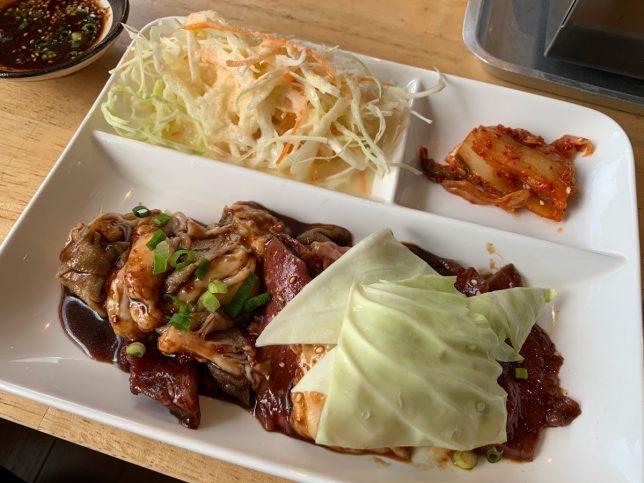ホル盛り定食 ¥850