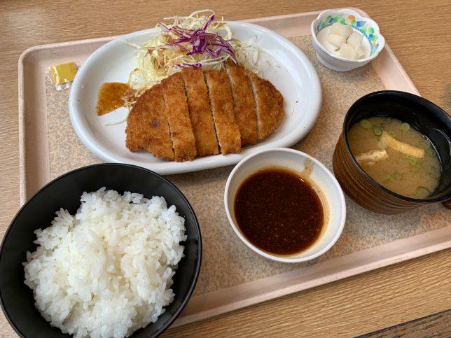 とんかつランチ ¥550
