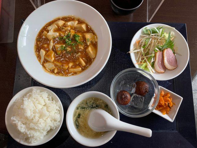 麻婆豆腐セット ¥950