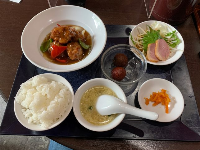 酢豚セット ¥950