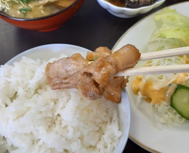 生姜焼きアップ3