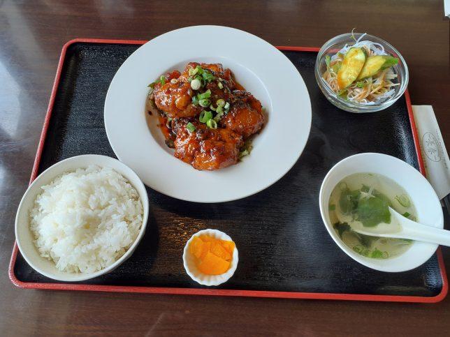 鳥の甘辛豆豉炒め ¥780