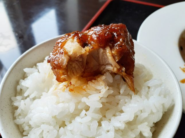豆豉炒めご飯オン